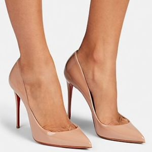 CHRISTIAN LOUBOUTIN Pigalle Follies Patent Leather
